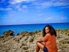 Taking a break to soak in the beauty in Grand Cayman, Cayman Islands
