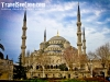 At Sultan Ahmed Mosque bka The Blue Mosque in Istanbul, Turkey