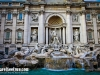The Trevi Fountain during the day - Rome, Italy