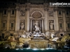 The Trevi Fountain at night - Rome, Italy