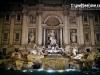 The Trevi Fountain at night - Rome, Italy