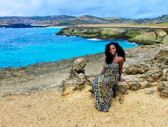 Me in Aruba by the Natural Bridge, May 2012