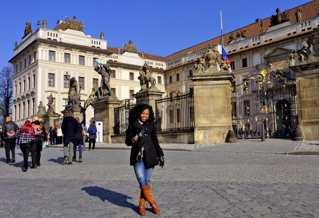 At the Prague Castle