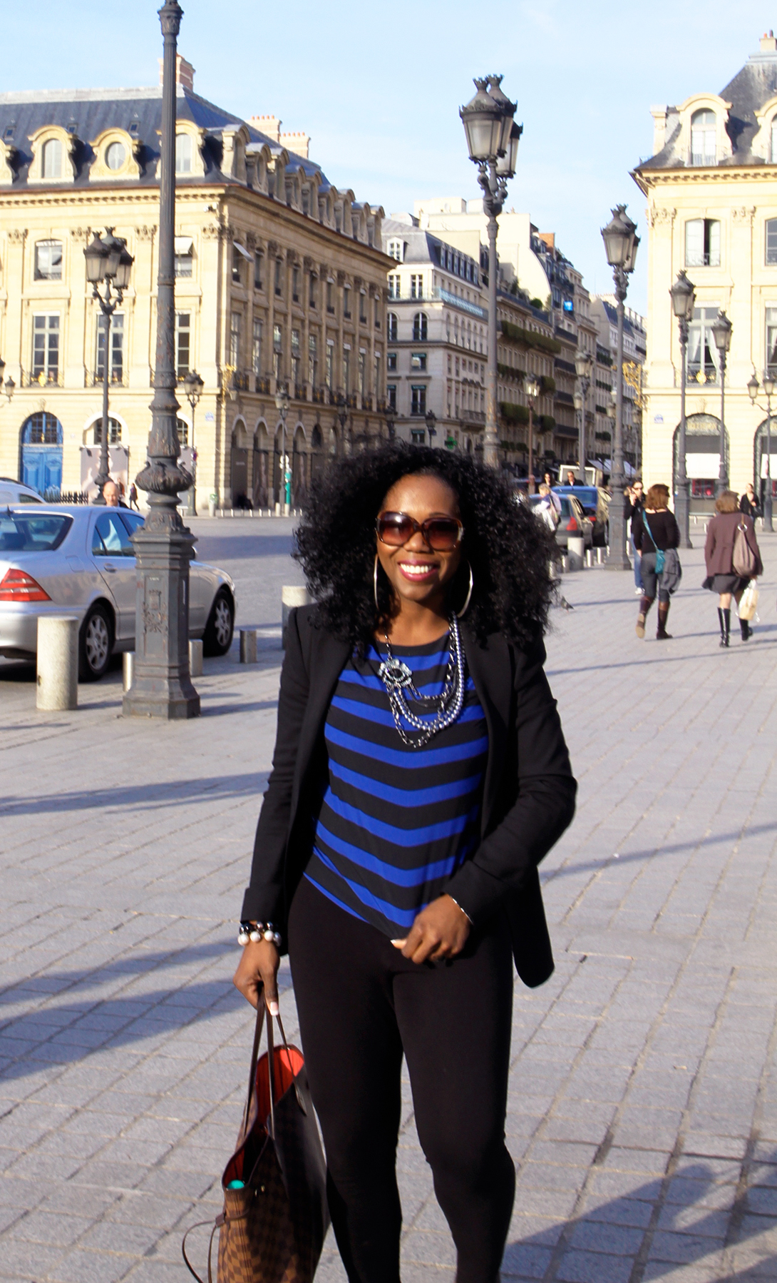 Strolling along Place Vendome