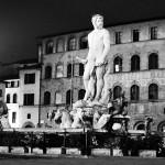 Statue of David..