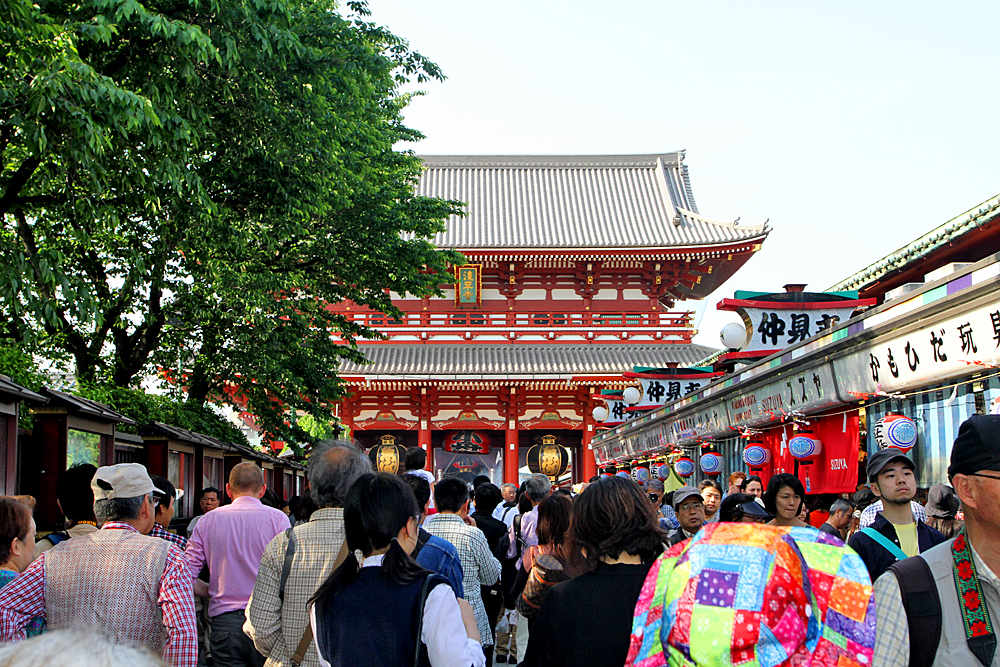 The festival takes place at the Sensō-ji in Asakusa