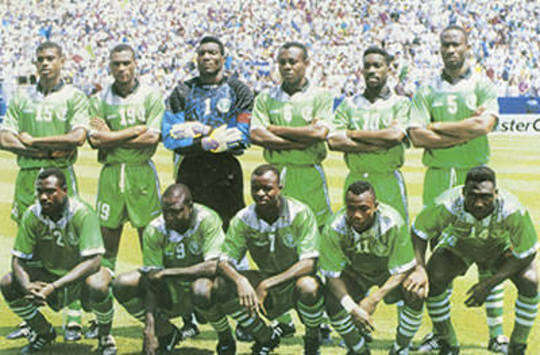 The 1994 Super Eagles
