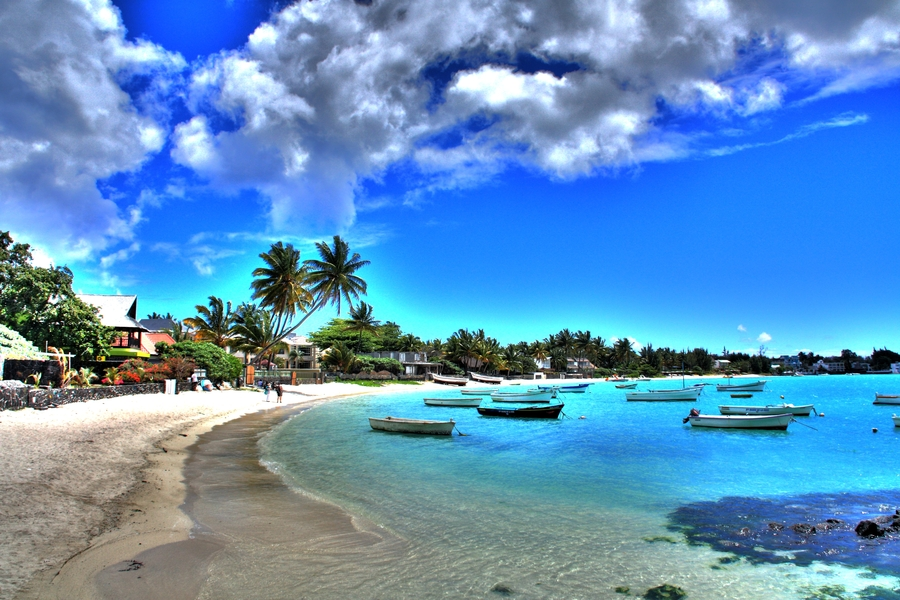 Grand Baie Beach Mauritius. Image credit not found. TravelSeeLove.com does not claim any rights whatsoever to this image.