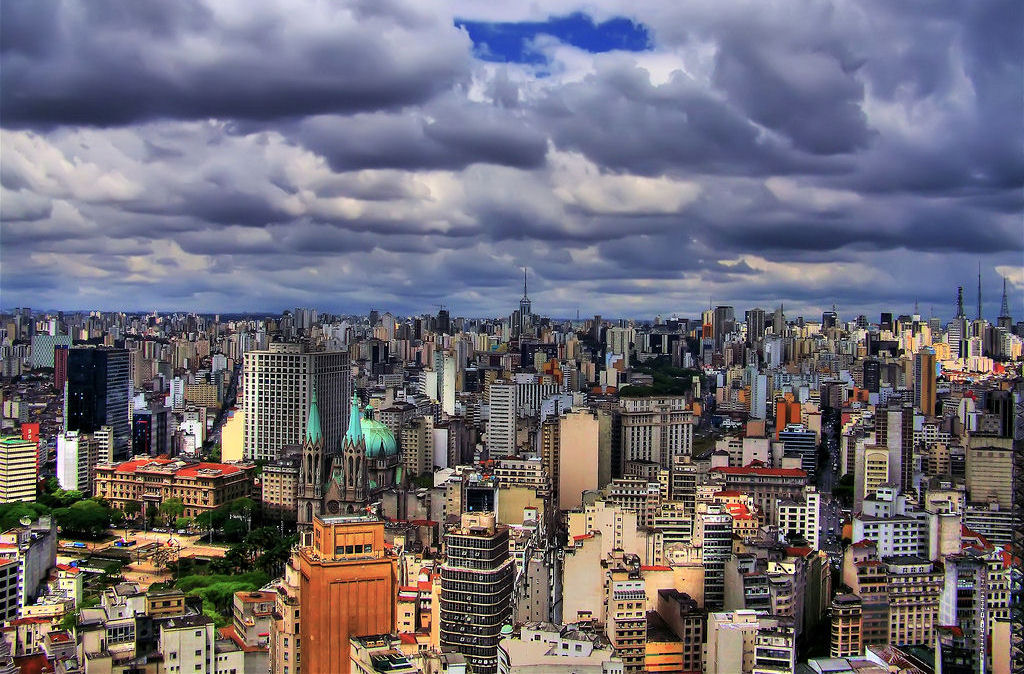 Sao Paulo cityscape. Image credit not found. TravelSeeLove.com does not claim any rights whatsoever to this image.