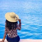 Enjoying a beautiful day in Anguilla