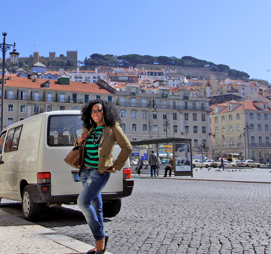 Wonderful views in Lisbon, Portugal