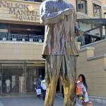 Visiting Nelson Mandela Square in Johannesburg, South Africa
