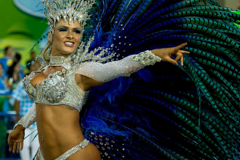 Annual carnival parade in Rio de Janeiro's Sambadrome (c) mirror.co.uk
