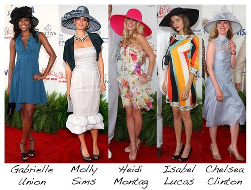 Celebs at Kentucky Derby by Runway Daily