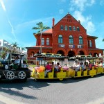 Key West Conch train. Photo credit not found. TravelSeeLove does not claim any rights whatsoever to this image.