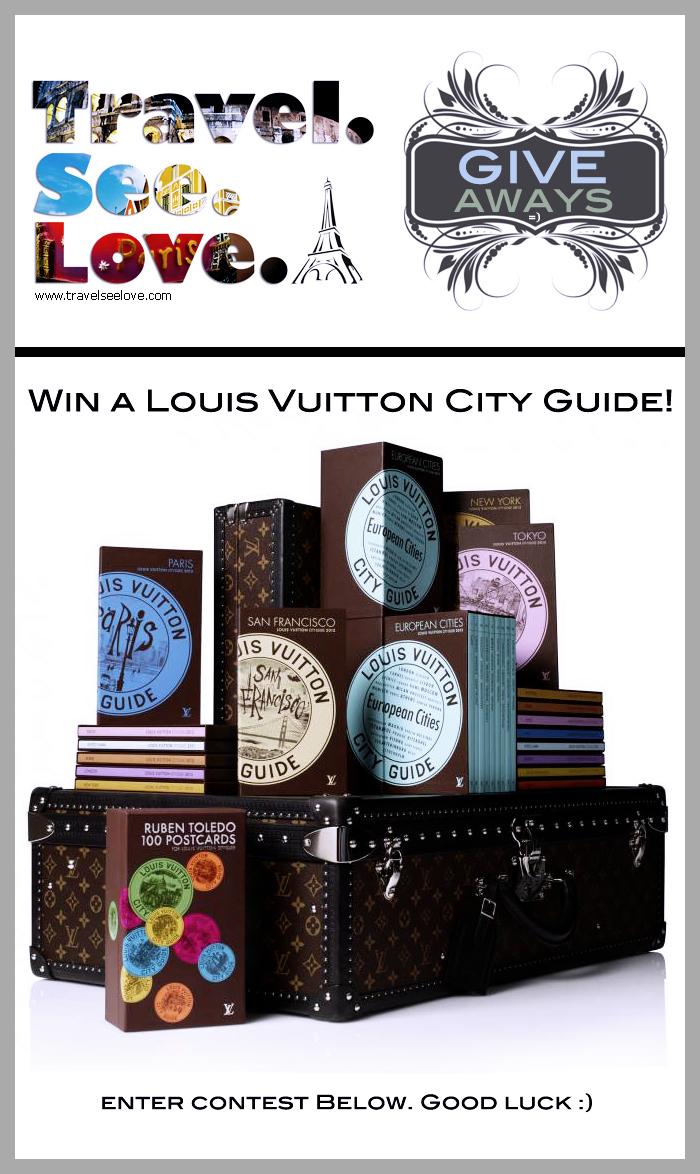 Louis Vuitton City Guides Giveaway