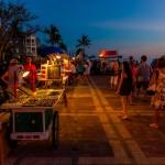 Sunset celebration, Mallory Square, Key West, Florida Keys, Florida USA. Photo credit