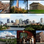 Nashville Collage. A Wikimedia Commons freely licensed collage.