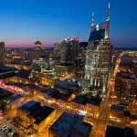 Nashville Skyline. Photo credit not found. TravelSeeLove does not claim any rights whatsoever to this image.