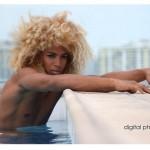 Solomon Islands blonde hair boy by John Jon Photography