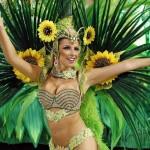 The magic of Rio Carnival, Rio de Janeiro, Brazil