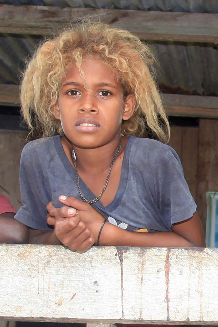 Young Solomon Islander. Photo credit not found. TravelSeeLove.com does not claim any rights whatsoever to this photo.