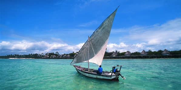 Zanzibar waters. Image credit not found. TravelSeeLove.com does not claim any rights whatsoever to this image.
