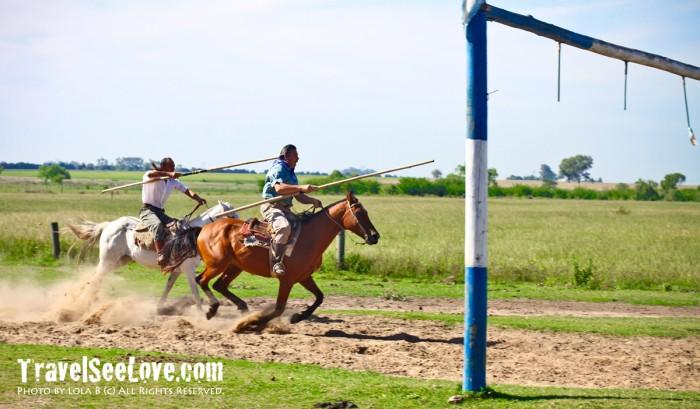 Gaucho horseback riding shows! Good times :D