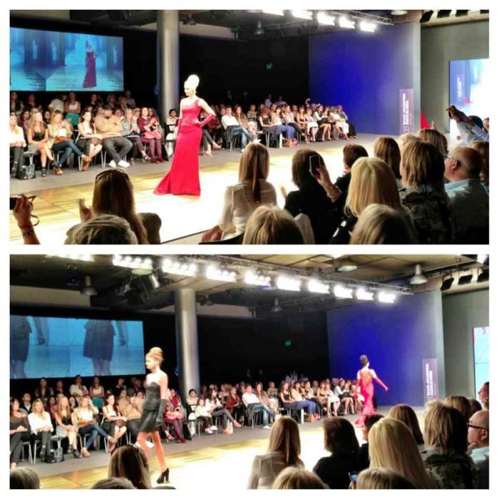At the Iaia Cano show at Argentina Fashion Week.. impressive showing!