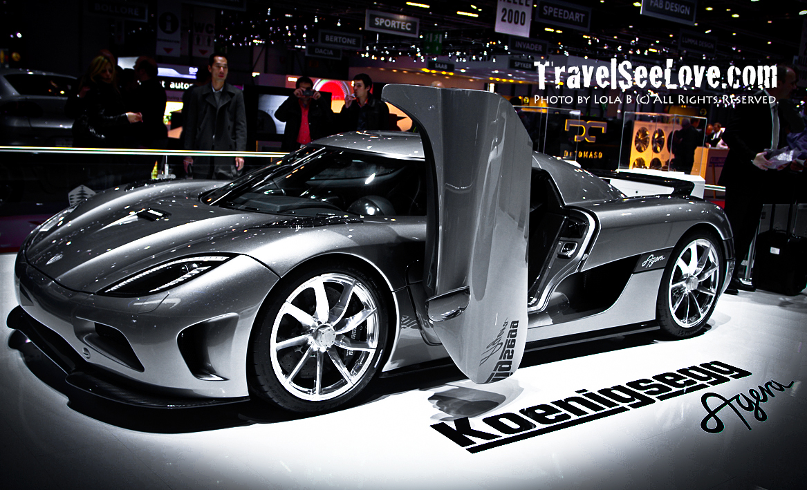 The Koenigsegg Agera is a BEAST!  If you want one, get your $2.1M ready!  What you get: 5.0ltr variable vane twin-turbo V8 engine, 910hp, 0-60 in less than 3. This car could rival the Bugatti veyron!