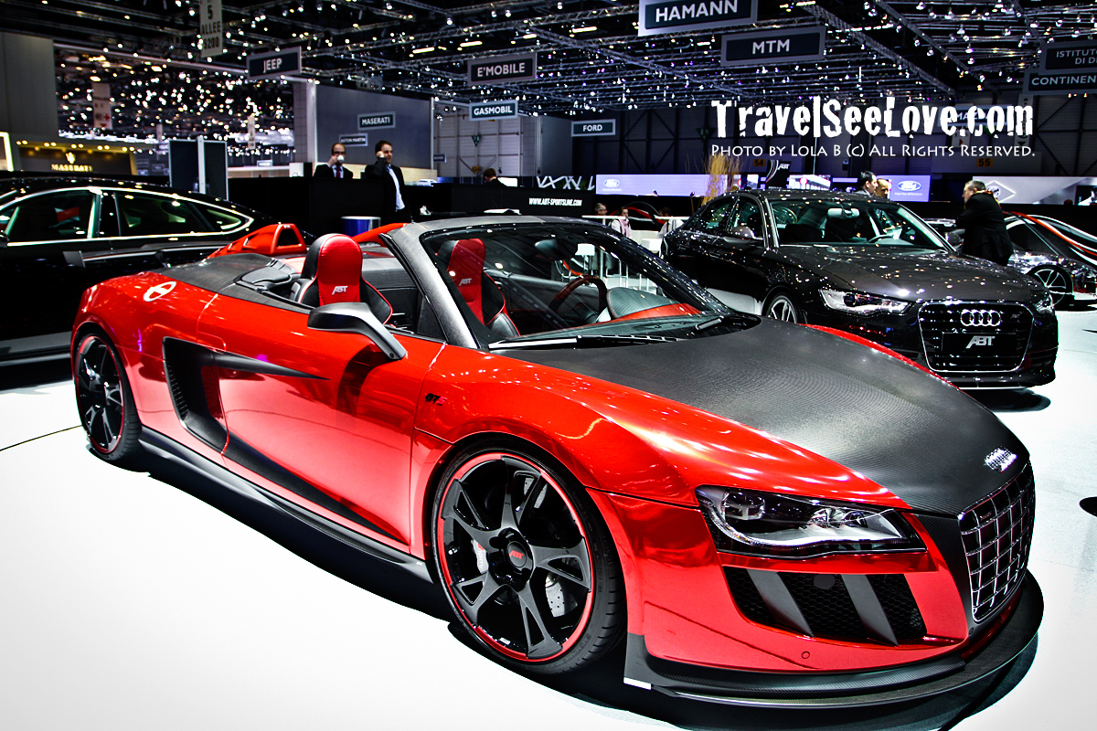 We've all seen and know the R8, but have you seen one quite like this? Wowzers!!