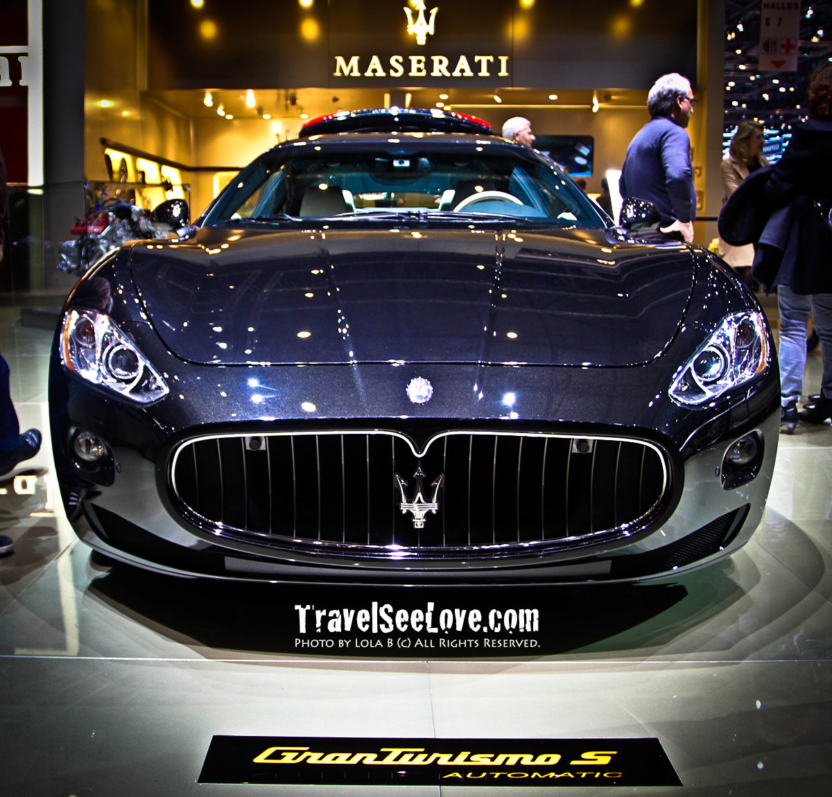 Maseratis were my first love..