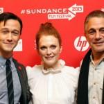 Joseph Gordon-Levitt, Julianne Moore and Tony Danza