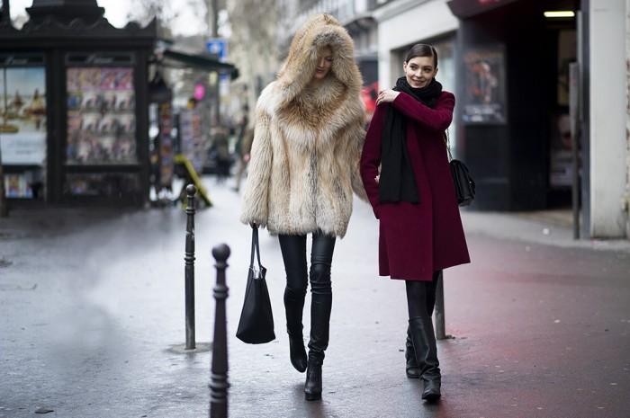 Street style at Paris Fashion Week. Photography: Youngjun Koo / Highsnobiety.com