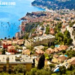 Overlooking the shores of Cannes, South of France