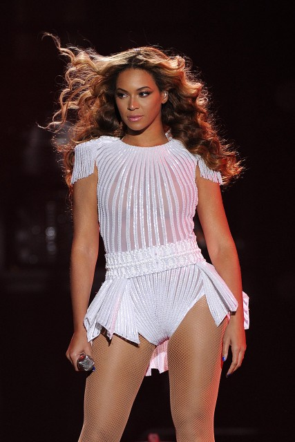 Beyonce in Belgrade, first stop of her Mrs. Carter World Tour. Photo courtesy of marieclaire.co.uk