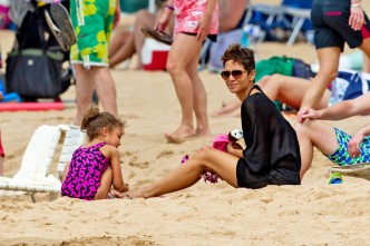 Halle Berry gets her groove back in Maui