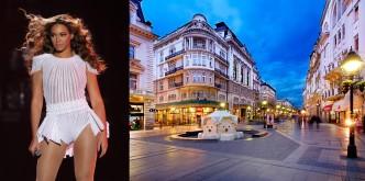 Beyonce in Belgrade
