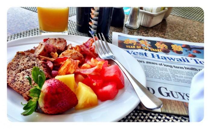 Breakfast in Kona