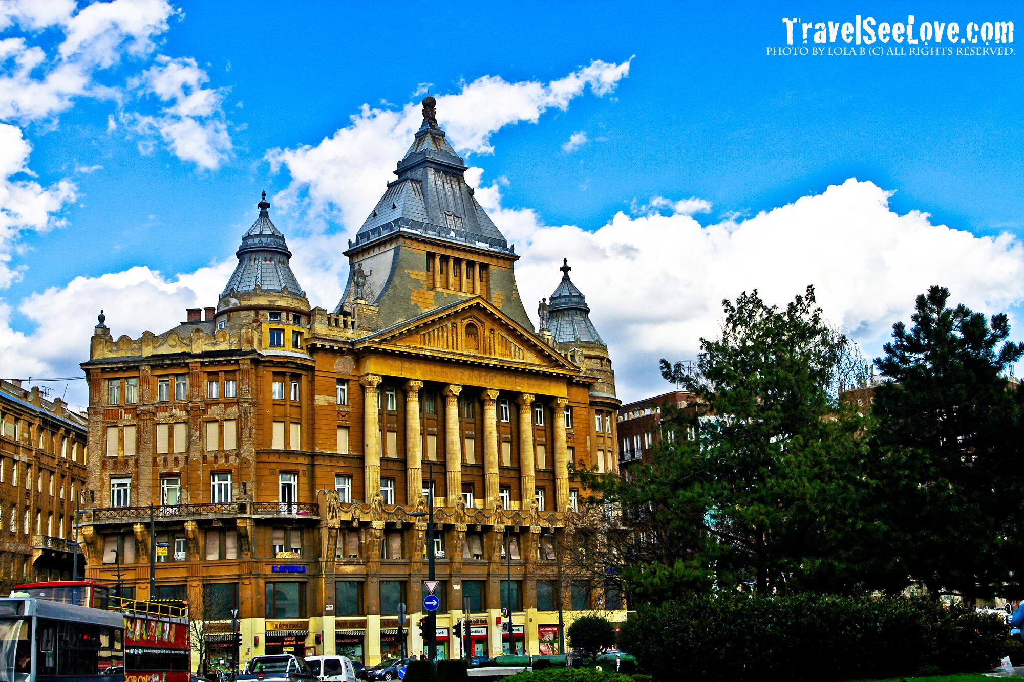 Beautiful buildings everywhere!