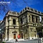 The Budapest Opera house