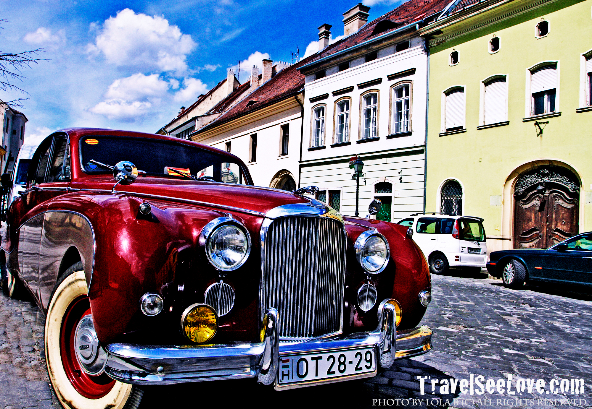 Loved seeing the classic cars on the Buda side