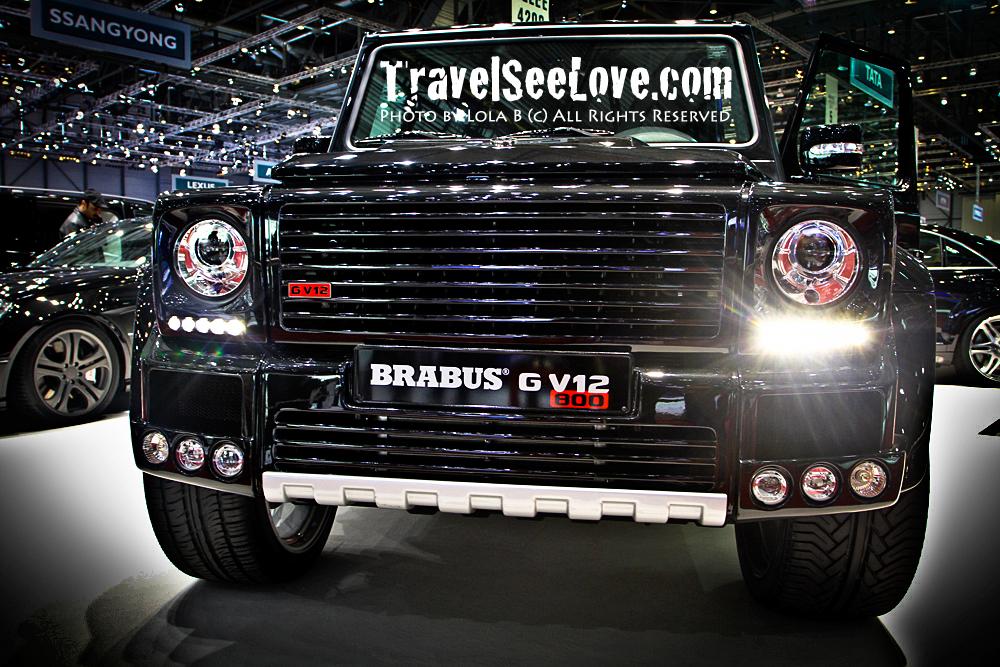 Brabus Tuning, V12 800hp G-Class... wow!