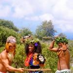 Warrior princess at Waimea in Kaua'i
