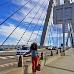 At the Anzac Bridge