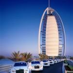 Rolls Royce Phantoms fleet at the Burj al Arab