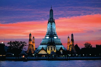 Wat Arun (Temple of Dawn), Bangkok, Thailand. Photo credit not found. TravelSeeLove.com does not claim any rights whatsoever to this image.