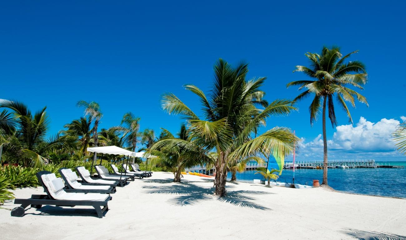 Belize beach. Yetunde, perhaps you and I can travel there together - it's on my list too! :)