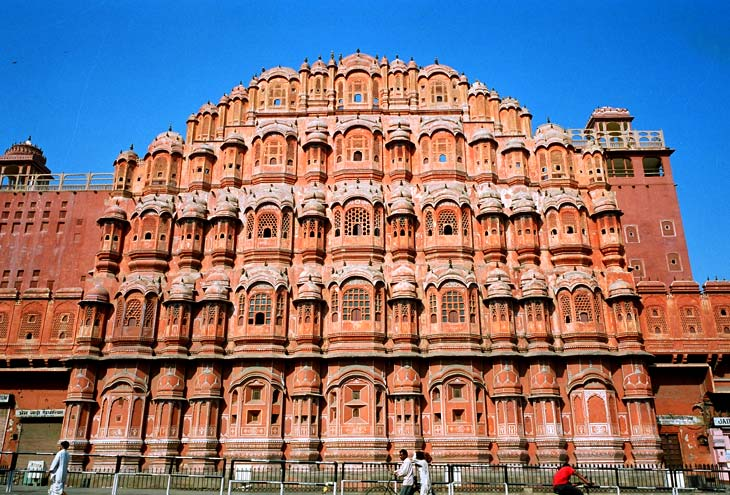 Hawa Mahal, Jaipur, India. Photo credit not found. TravelSeeLove.com does not claim any rights whatsoever to this image.