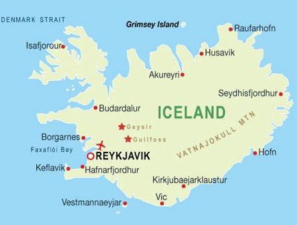 Iceland map travelseelove iceland map gumiabroncs Image collections